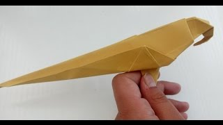Origami parrot/easy and simple
