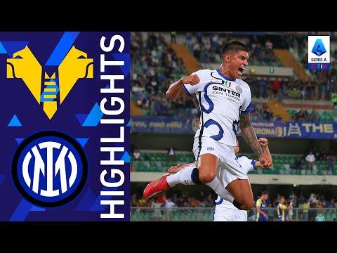 Hellas Verona 1-3 Inter | Correa si presenta all'Inter con una doppietta | Serie A TIM 2021/22
