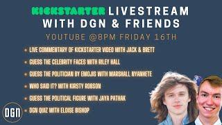 Kickstarter Celebration Livestream