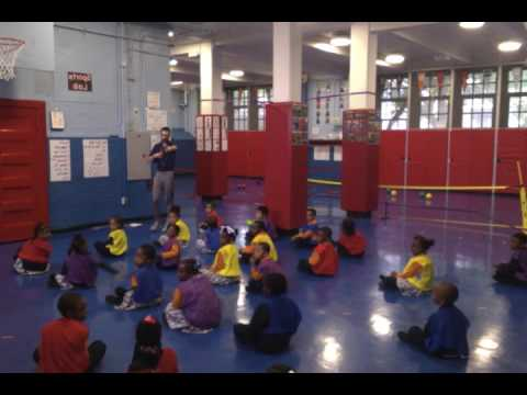 Health and Physical Education Lesson - Overhand Throw - Kindergarten