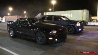 Jeep SRT8 vs 5.0 Mustang Video