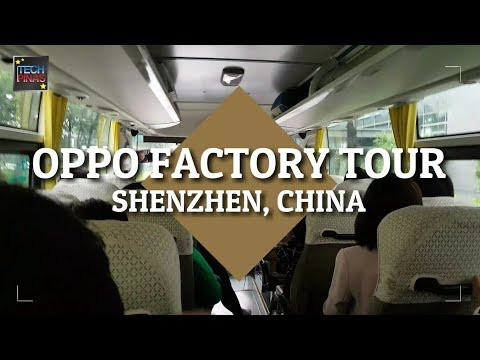 OPPO Smartphones Factory Tour in Shenzhen, China