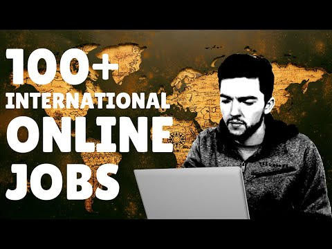100+ International Work-From-Home Jobs Hiring 2020 at This Website