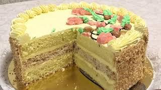 Торт ВЕТКА коллекция советских рецептов Торты по ГОСТу Branch cake