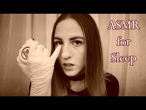 [ASMR] Face Measuring and Facial Exam for Sleep || gloves, whispered