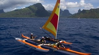 Beyond The Pain: Bora Bora Sailing Canoes