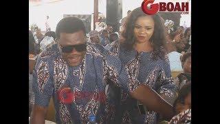 Kelvin Ikeduba Beautiful Wife Storms Yomi Fabiyis Mums Burial As Lola IdijeOthers Spotted Eating