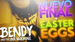 Video de NUEVO FINAL SECRETO! Y TODOS LOS EASTER EGGS DE BENDY AND THE INK MACHINE ( CHAPTER 1 & 2 )