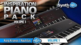 INSPIRATION PIANOS PACK SOUND BANK | KORG KRONOS