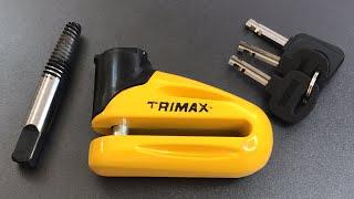 [623] Bolt Extractor vs. TriMax Motorcycle Disc Brake Lock (Model T665)