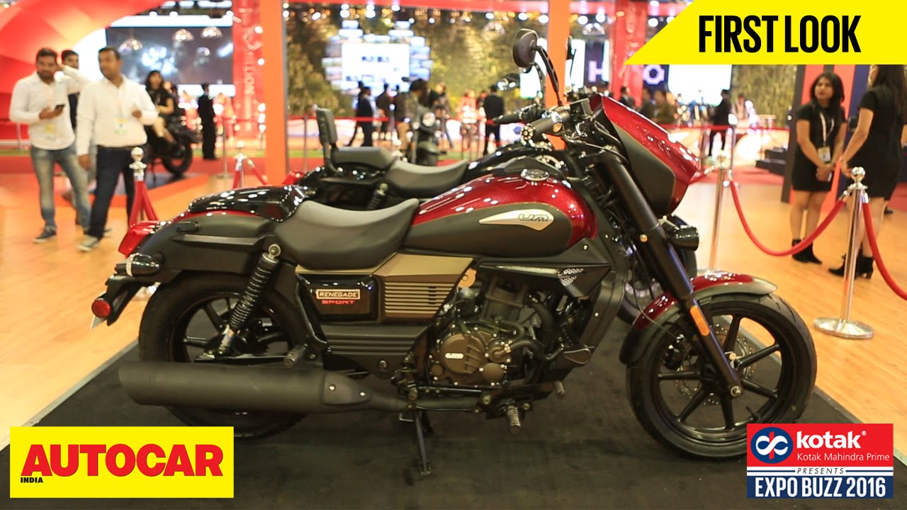 Um Motorcycles First Look Autocar India Presented By Kotak