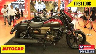 UM Motorcycles | First Look | Autocar India | Presented By Kotak Mahindra Prime