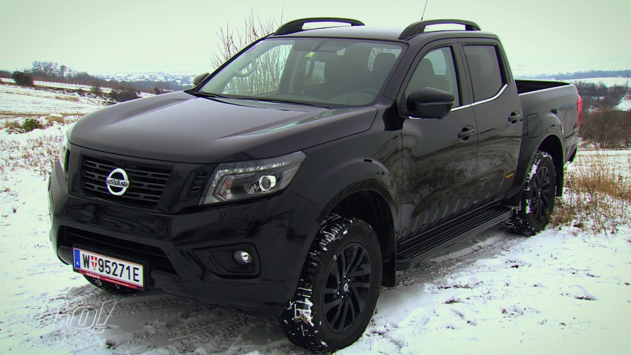 Man In Black Nissan Navara N Guard Der Test