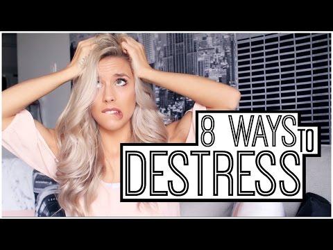 8 Ways/Tips To Destress | Kalyn Nicholson
