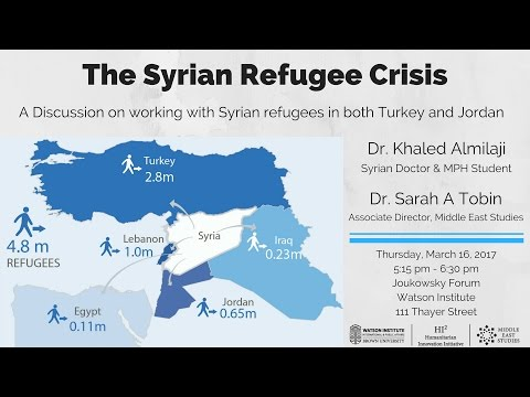 The Syrian Refugee Crisis