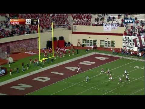 2013 Illinois at Indiana Football Highlights