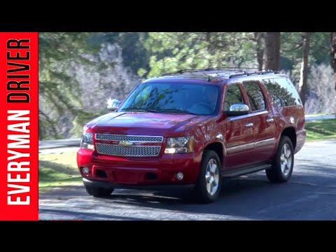 Here's the 2013 Chevrolet Suburban LTZ  Review on Everyman Driver