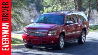 2013 Chevrolet Suburban LTZ  Review on Everyman Driver