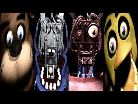 PARTS AND SERVICE JUMPSCARES!! || FNAF VR Help Wanted