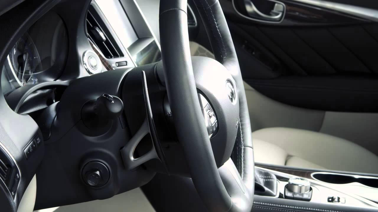 2014 Infiniti Q50  Tilt and Telescopic Steering Column if so