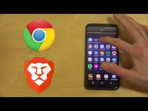 Brave Browser vs  Google Chrome Browser Samsung Galaxy S8 Android Speed  Test Review!