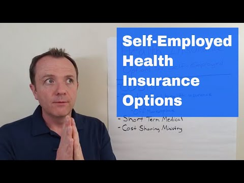 Health Insurance Options For The Self Employed Or Are Leaving Your Job