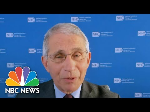 As Christmas Nears, Fauci Warns Against Holiday Travel   NBC Nightly News