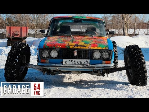 Fitting a Lada with some 38 inch wheels