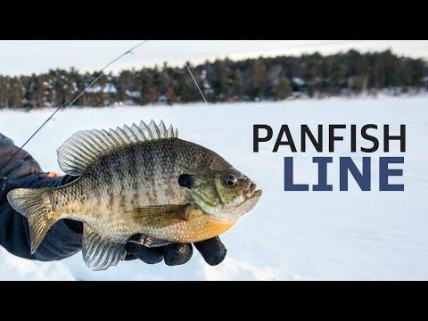 Picking Panfish Line For Ice Fishing