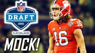 Way Too Early 2021 NFL MOCK DRAFT! Trevor Lawrence goes #1 to...