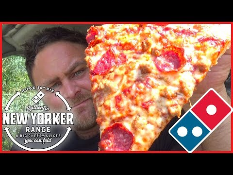 Domino's New Yorker Pizza Review
