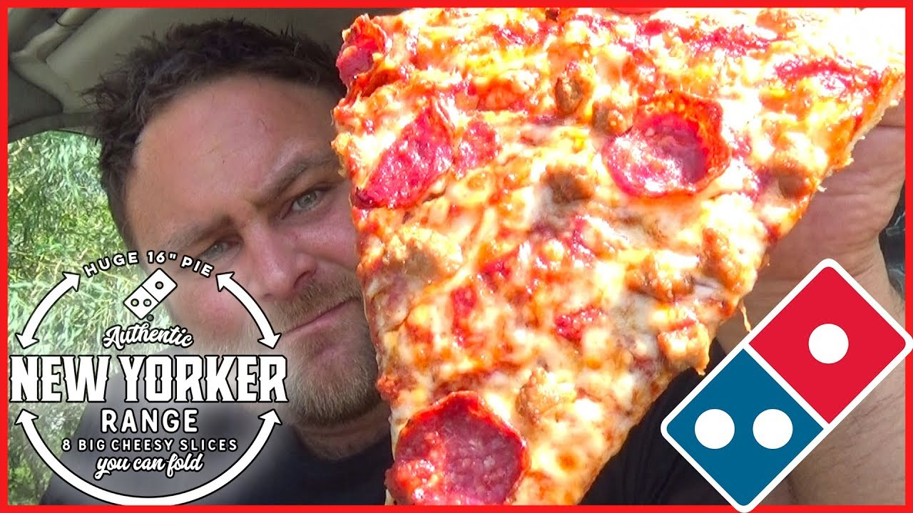 Domino's New Yorker Pizza Review - Australia's First ...