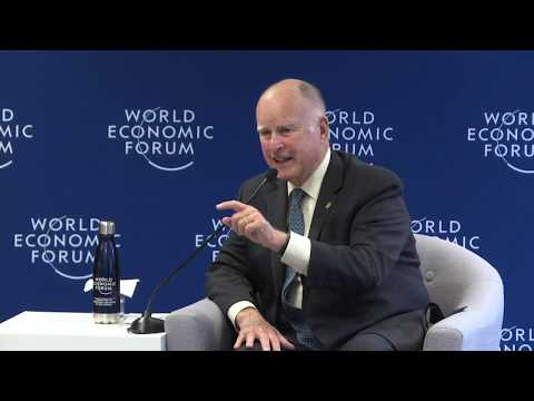 Media Briefing with Jerry Brown, Governor of California