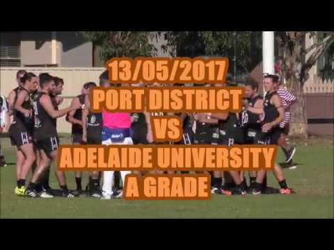 Port District VS Adelaide Uni   A-Grade  Division 1... 13/05/2017...