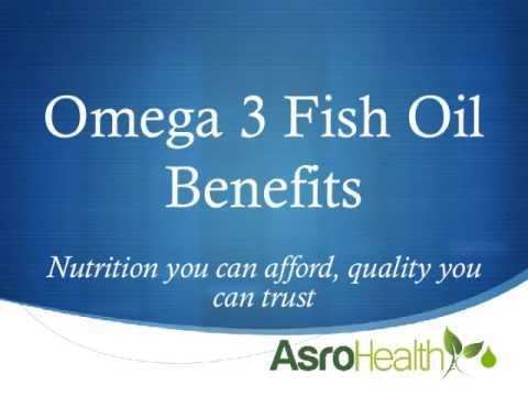 Nu-Health And NCB Fish Oil Benefits - Asro Health