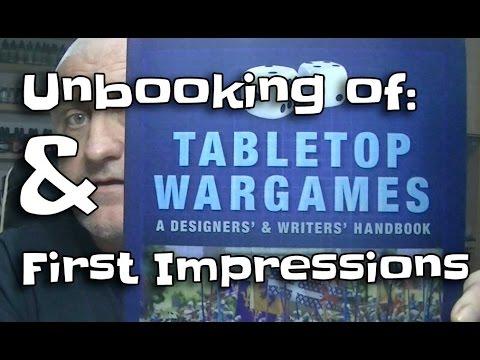 Unbooking Tabletop Wargames: A Designer's & Writer's Handbook