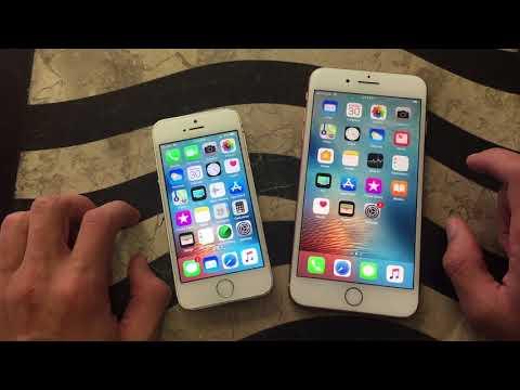 iPhone 5S vs iPhone 8 Plus Speed Test!