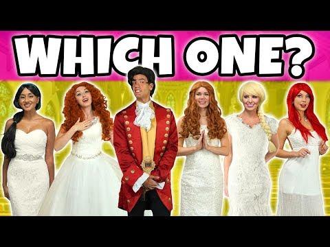 SHOULD ARIEL OR ELSA MARRY GASTON? Or Should Belle, Merida or Jasmine? Totally TV