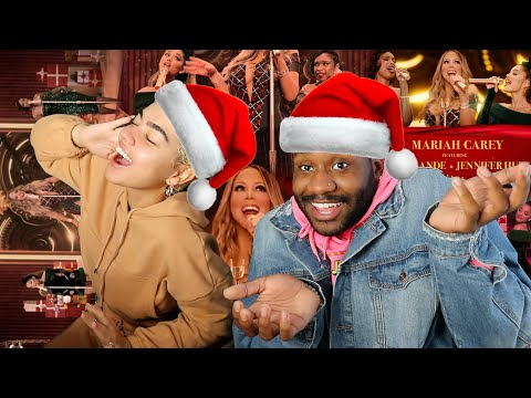 🎅🏼💎 | Mariah Carey – Oh Santa! (Official Music Video) ft. Ariana Grande, Jennifer Hudson | REACTION