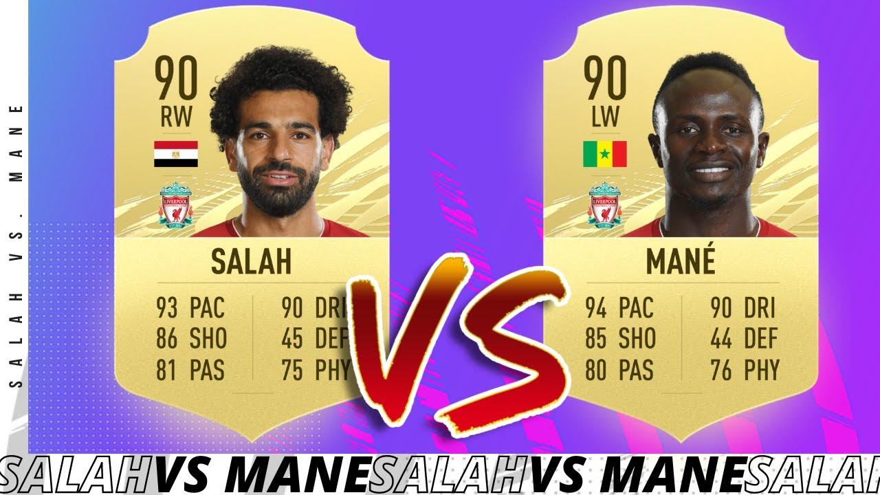 SALAH VS MANE FIFA 21 PLAYER REVIEW! FIFA 20 Ultimate Team - YouTube