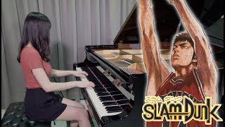 SLAM DUNK ED - Sekai ga Owaru Made wa 世界が終るまでは - Ru's Piano Video