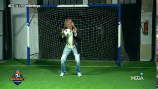 Álex Silvestre tira un penalti a Gatti... ¿Lo meterá?