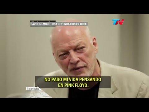 Entrevista a David Gilmour en Argentina 2015