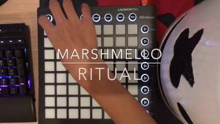 Marshmello -Ritual ft. Wrabel ( Launchpad Mk2 Cover )