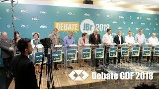 Debate JBr./CFA com candidatos ao GDF