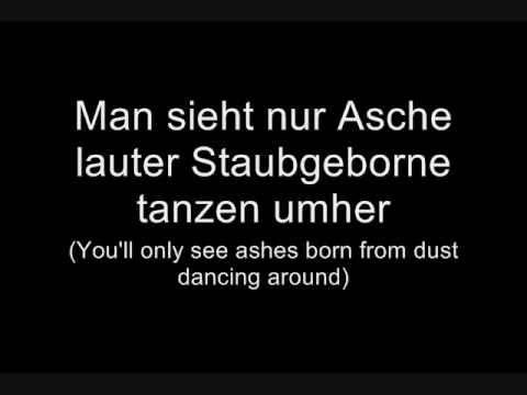 Oomph! - Geboren zu sterben (Lyrics w/ English Translation)