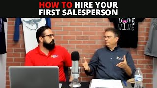 CAS Podcast Episode 78 | 4 Steps to Hiring Your First Salesperson