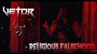 VETOR   |  Religious Falsehood (Official Lyric Video)