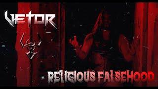 VETOR   |  Religious Falsehood (Official Lyric Video)