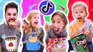 Download Mp3 Probando Comida Viral De Tiktok En Familia 🔥 Tiktok Food Hacks